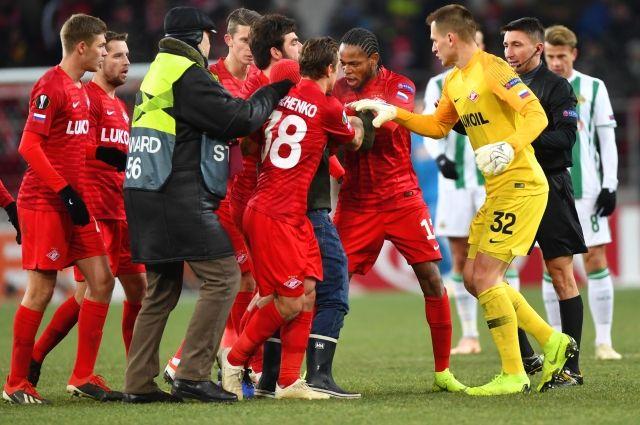 УЕФА открыл дело в отношении «Спартака» из-за инцидента с болельщиком