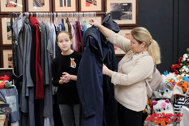 На специализированном зимнем маркете посетителям представили эксклюзивные коллекции домашней и уличной одежды.
