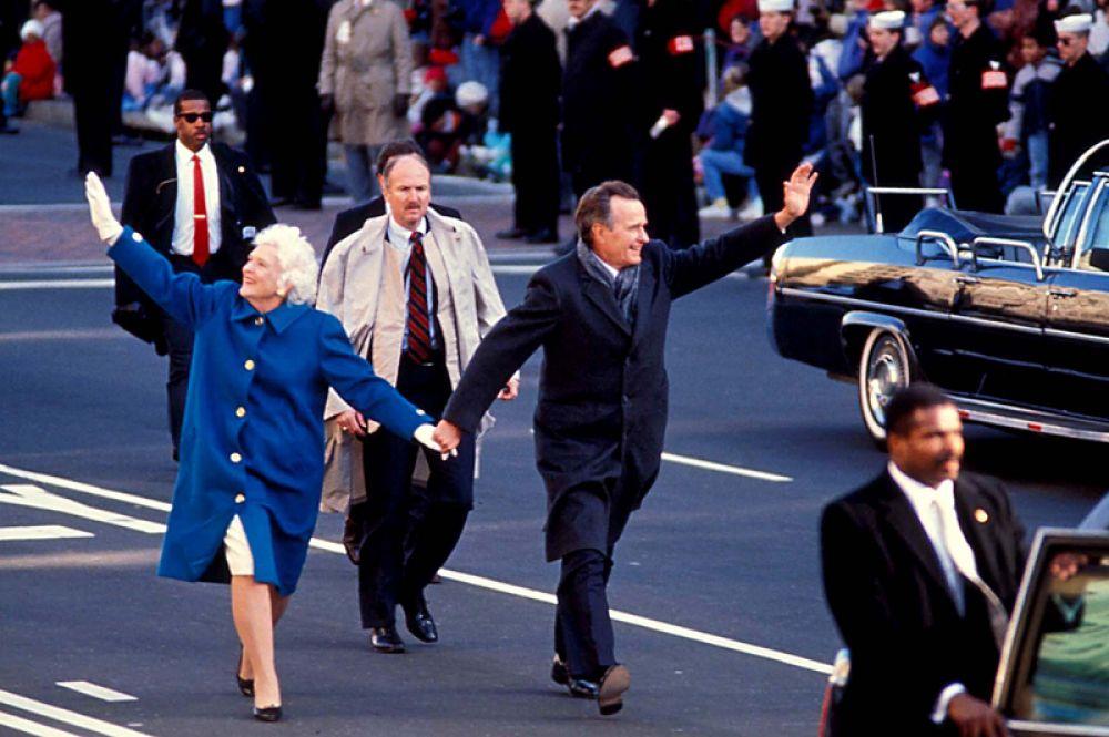 Инаугурация Буша-старшего на пост президента. 20 января 1989 года.