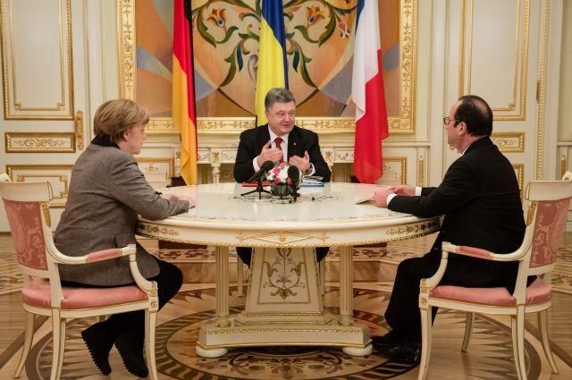 Порошенко огласил требования Украины на встречу в Нормандском формате