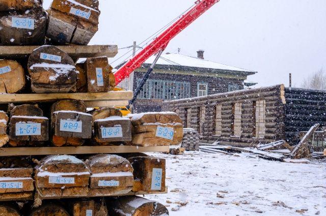 Реставрация домов будет проходить методом перебора.
