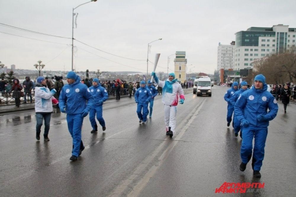 Общая протяженность маршрута в Иркутске составила более 3 500 метров.