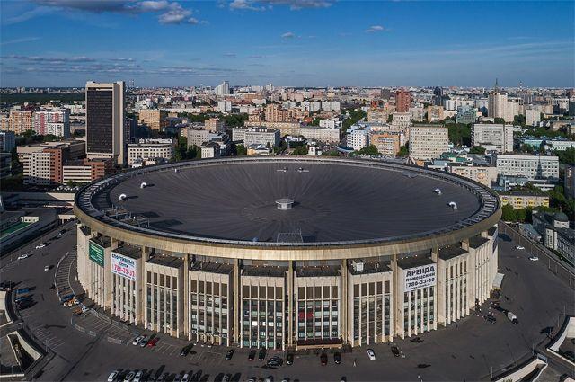 Спорткомплекс «Олимпийский» в Москве.