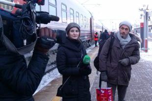 Джастин Уоллей приехал в Казань из Сочи на поезде.