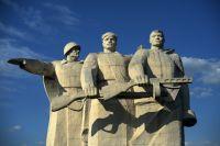 Мемориал памяти 28 героев-панфиловцев.