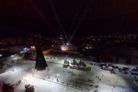Площадь Сахарова в Барнауле