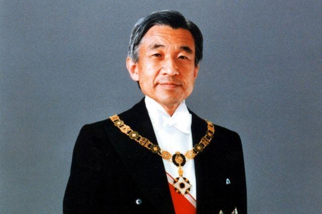 Император Акихито. 1990 год.
