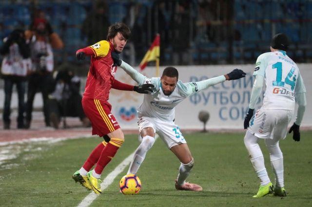 «Зенит» проиграл «Арсеналу» в гостевом матче РПЛ