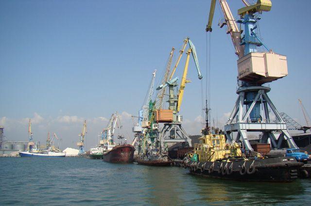 Бердянский морской порт.
