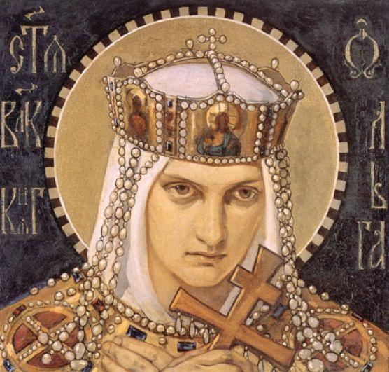 Псков — княгиня Ольга.