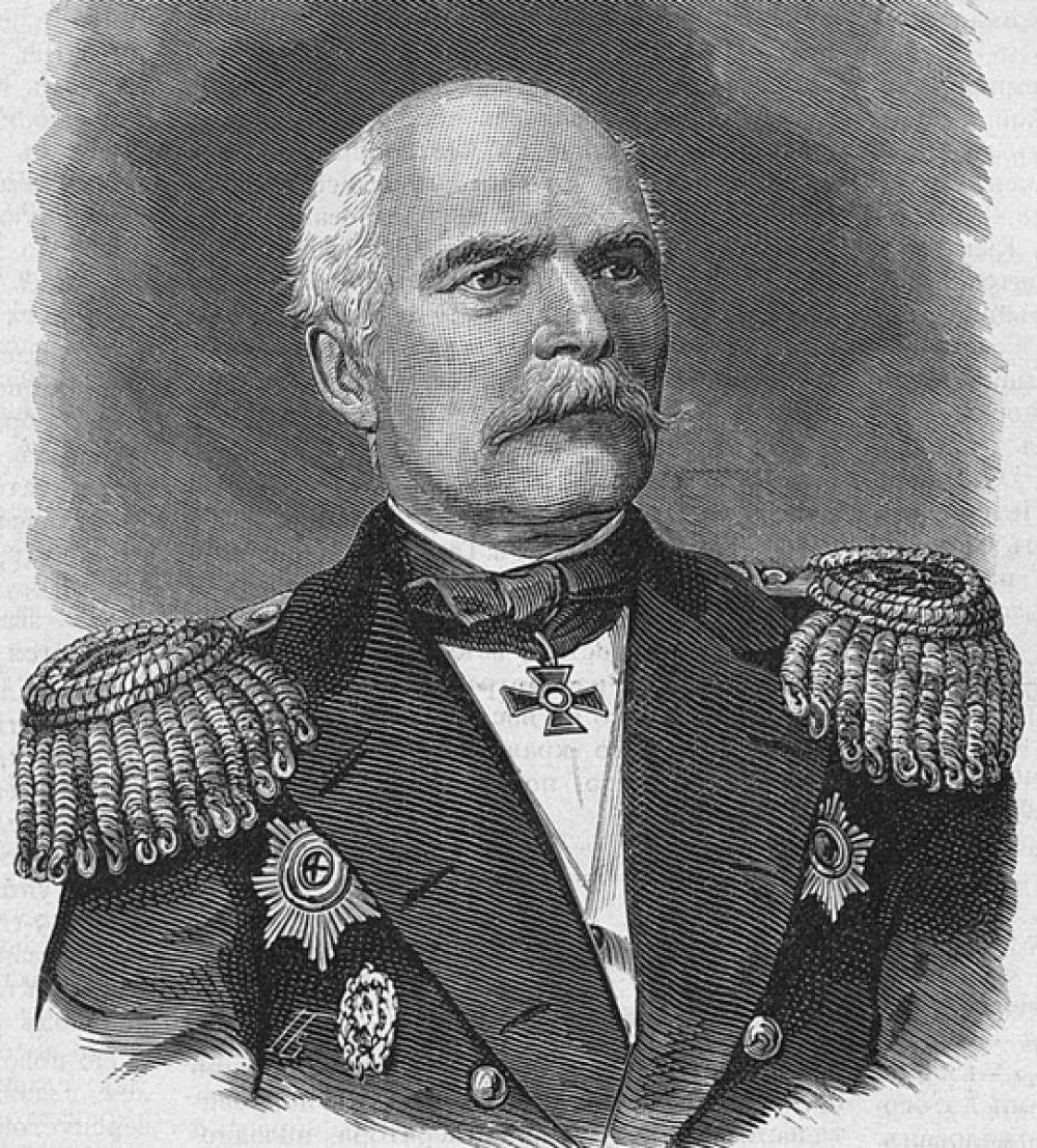Хабаровск — адмирал Геннадий Невельской.