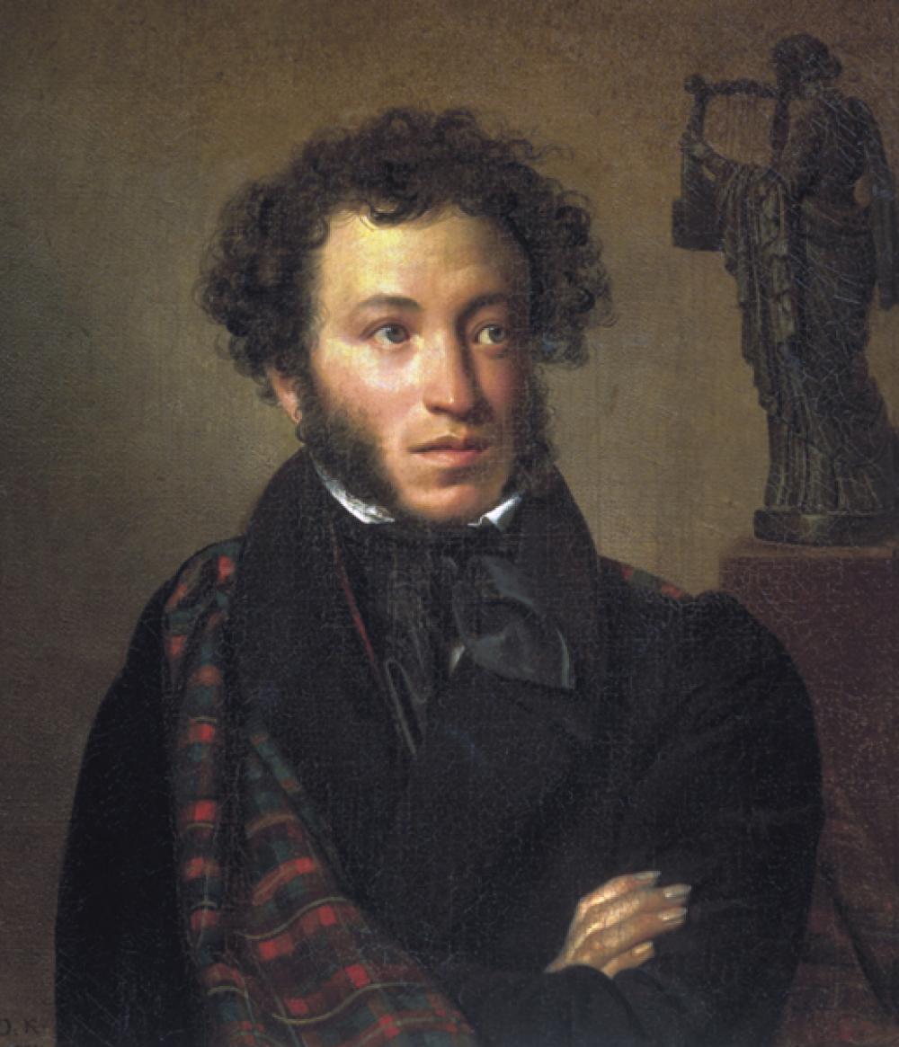 Москва (Шереметьево) — поэт Александр Пушкин.