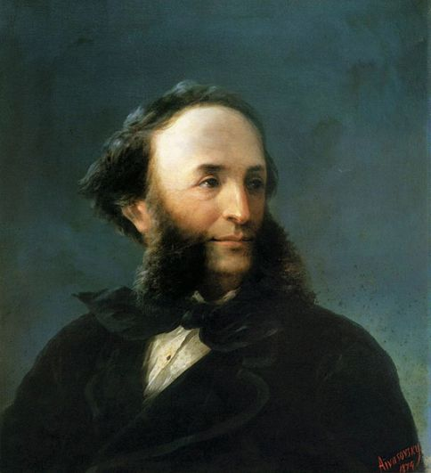 Симферополь — художник-маринист Иван Айвазовский.