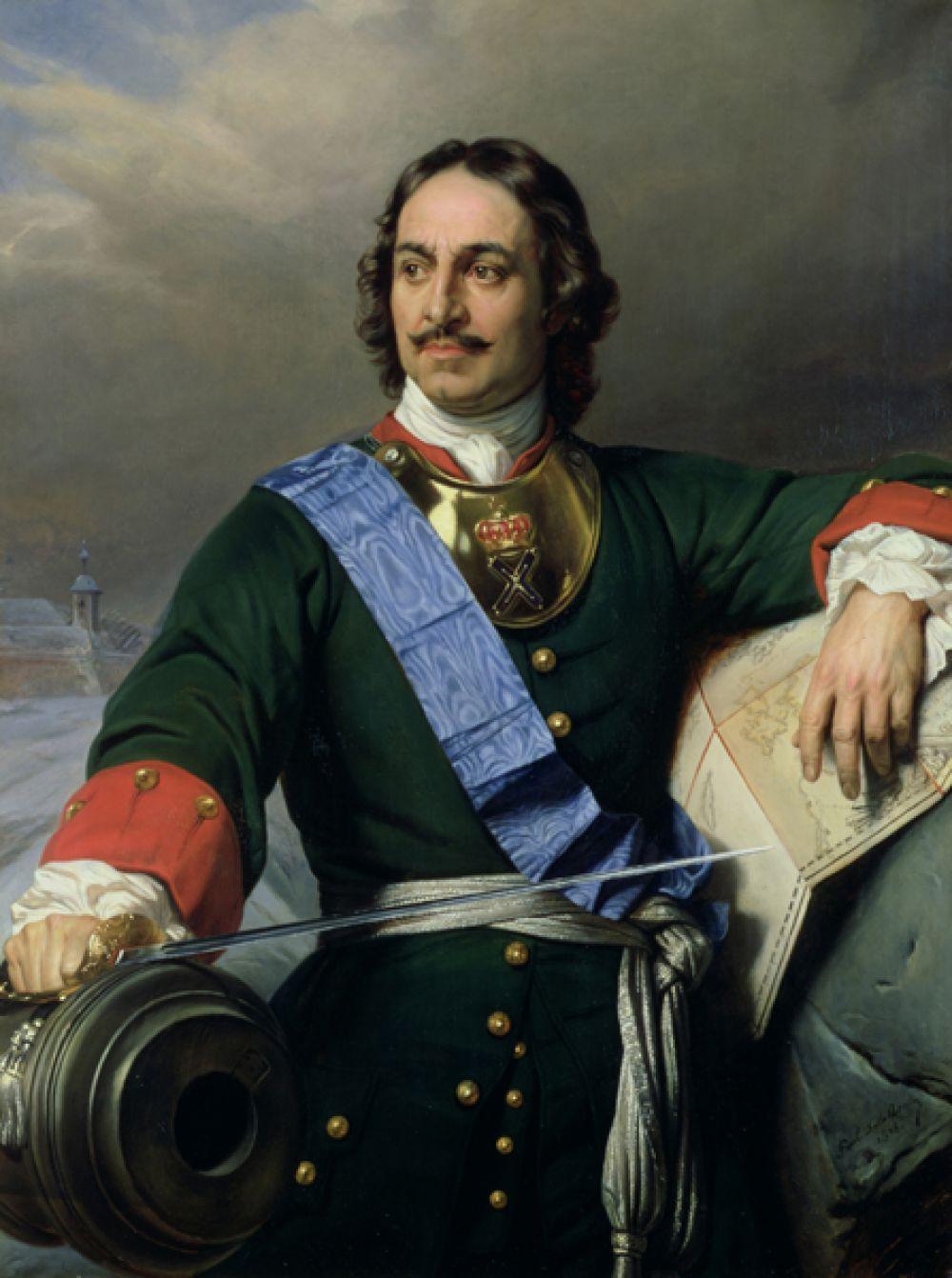 Воронеж — император Пётр I Великий.