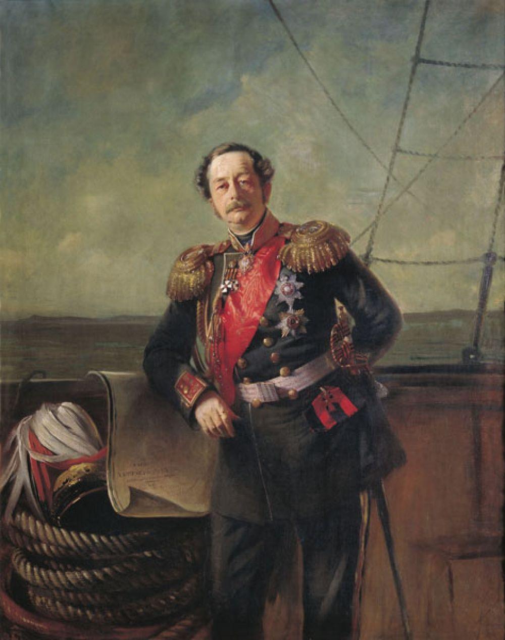 Благовещенск — государственный и военный деятель Николай Муравьёв-Амурский.
