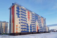 В Салехарде готовятся сдать в эксплуатацию дом на 143 квартиры