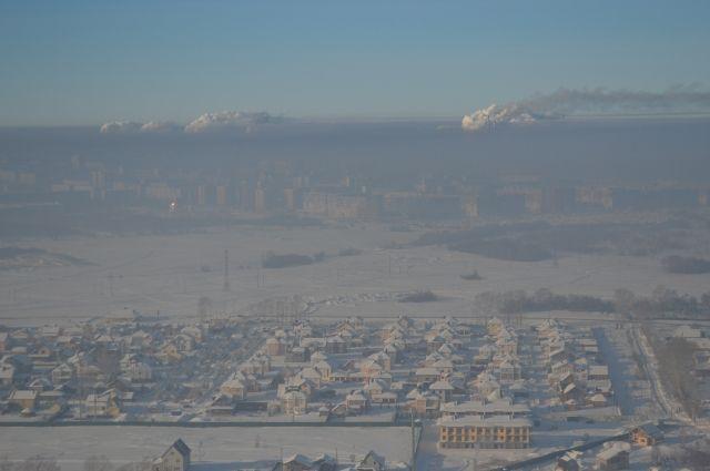 В регионе стоят сильные морозы, местами температура опускается ниже -40°С.