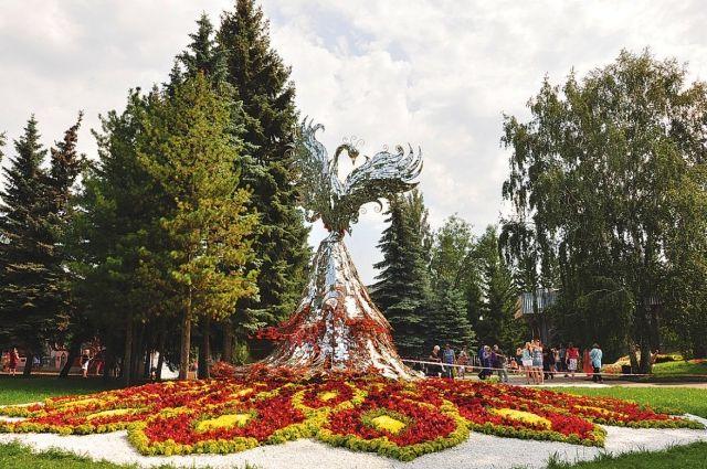 Омская «Флора» каждый год всё краше