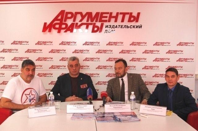 Петр Мелкоступов, Сергей Перников, Виталий Барышников и Дмитрий Эверт.