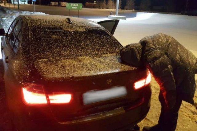 В Оренбурге разбитую в ДТП машину владельцы объявили угнанной.