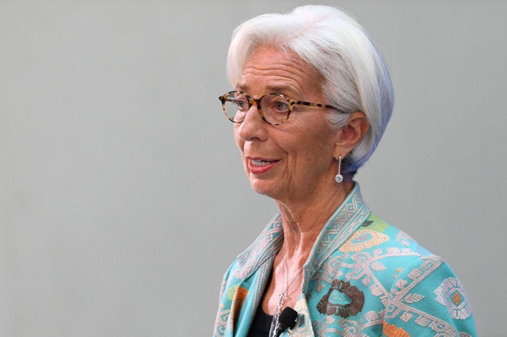 На третьем месте — глава МВФ Кристин Лагард.