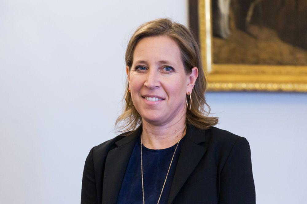 Главный исполнительный директор YouTube Сьюзен Войжитски заняла седьмое место.