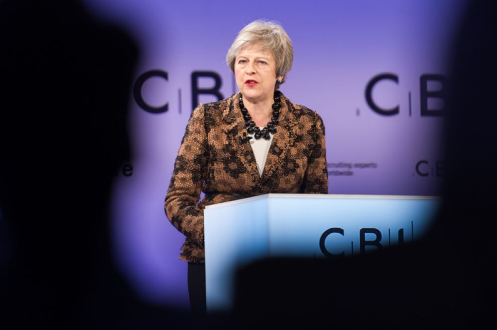 Вторую строчку заняла премьер-министр Великобритании Тереза Мэй.