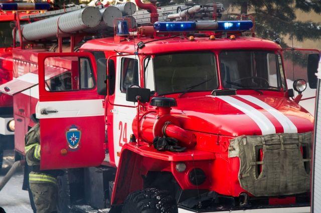 Омские пожарные