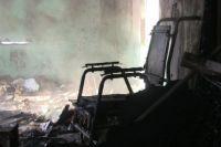Последствия пожара в БСМП