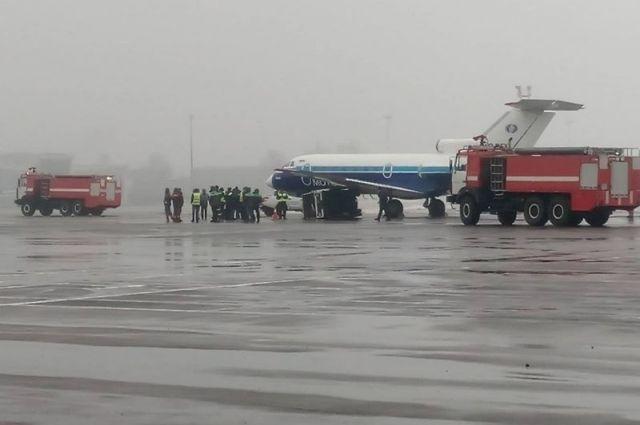 В аэропорту «Жуляны» произошла авария с самолетом