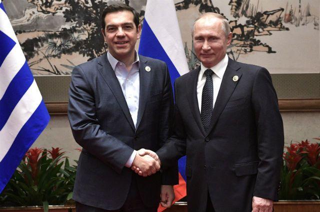 Путин отверг утверждения озаговоре Российской Федерации против Греции