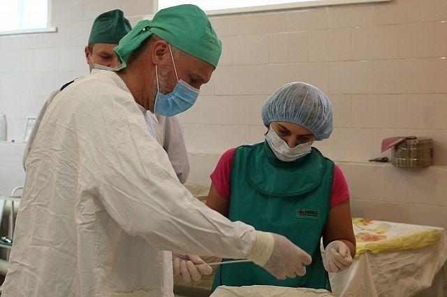 Больница для хирурга стала не только местом работы, но и местом вдохновения.