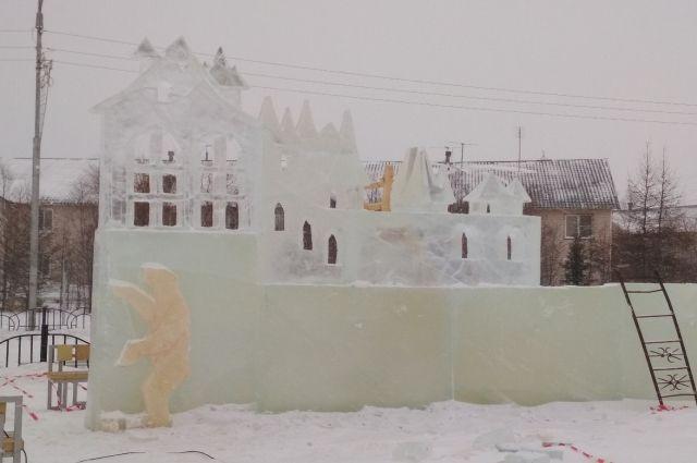 Ледовый городок построят в Тобольске