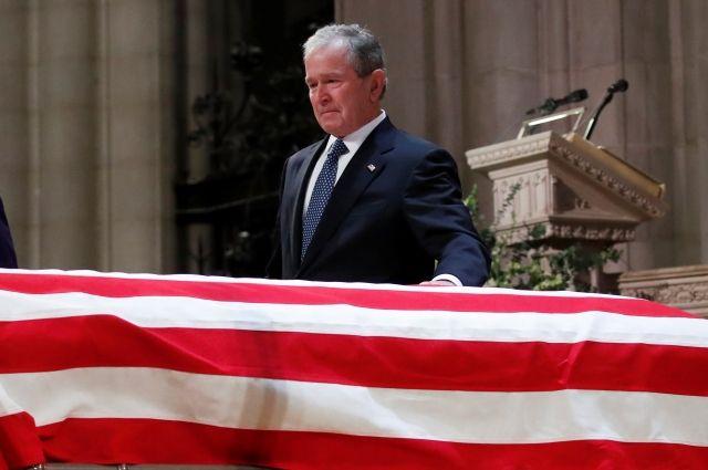 Джордж Буш-младший рассказал о последних словах отца
