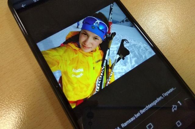 Лыжница Мария Истомина родилась в Перми в 1997 году.
