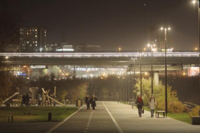 В Красноярске появилась архитектурно-световая среда