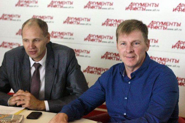 Александр Зубков (справа)