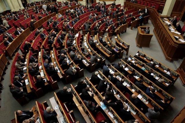 Рада провалила правки в закон о повышении налогов в Украине