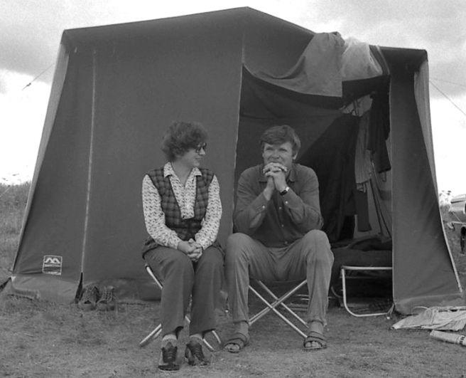 Анатолий Пшеничнюк в лагере.