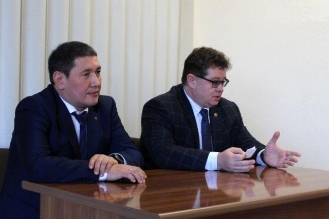 Михаил Охлопков и Игорь Корсаков