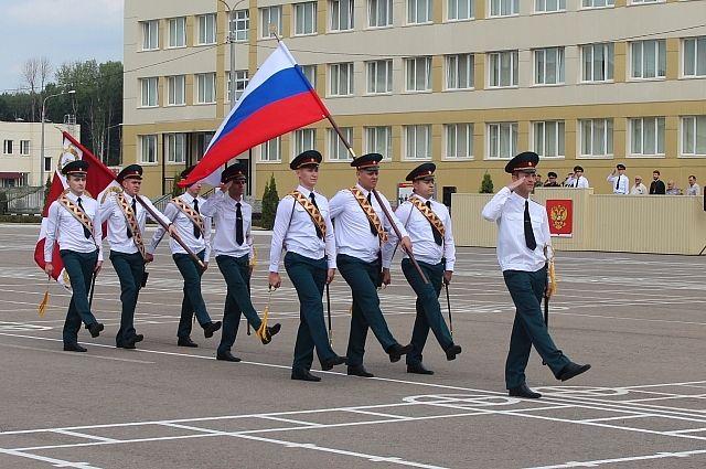 Принятие присяги в воинской части в Рождествено.