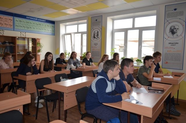 1 сентября 2018 года ученики школы посёлка Ангарский сели за парты трёх обновлённых кабинетов.