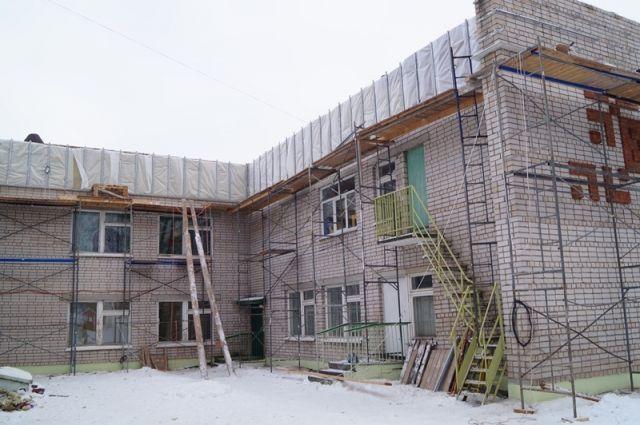 Работы на объекте проводит подрядчик «Интер-СтройГрупп».