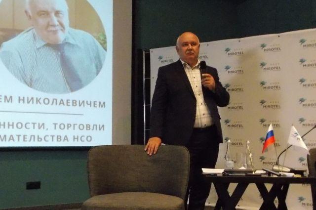 Николай Симонов руководил областным минпромторгом 4 года.