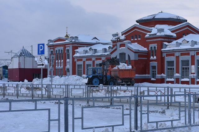 Железнодорожный вокзал Барнаула