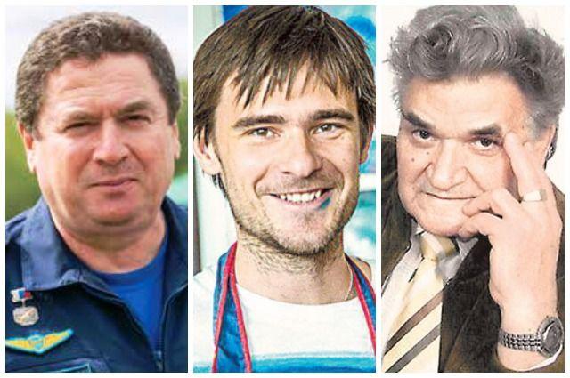 Виктор Севостьянов, Александр Якунин и Виктор Комиссинский.