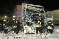 В Николаеве водитель грузовика сгорел заживо в кабине
