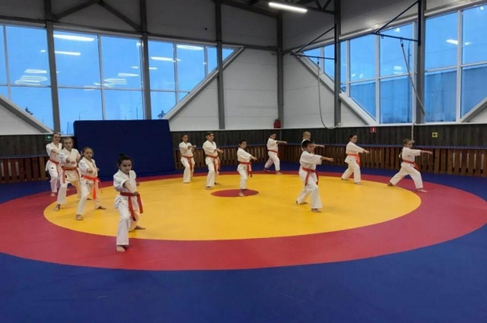 Показательные выступления тазовских дзюдоистов «Спортивные рекорды во славу района».