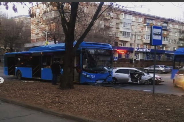 ДТП в центре города.