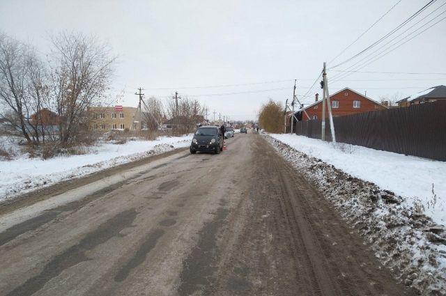 В Оренбургском районе водитель Matiz сбил пенсионерку